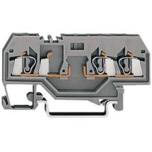 3-проводная клемма для установки модулей 2,5 mm²  цвет серый